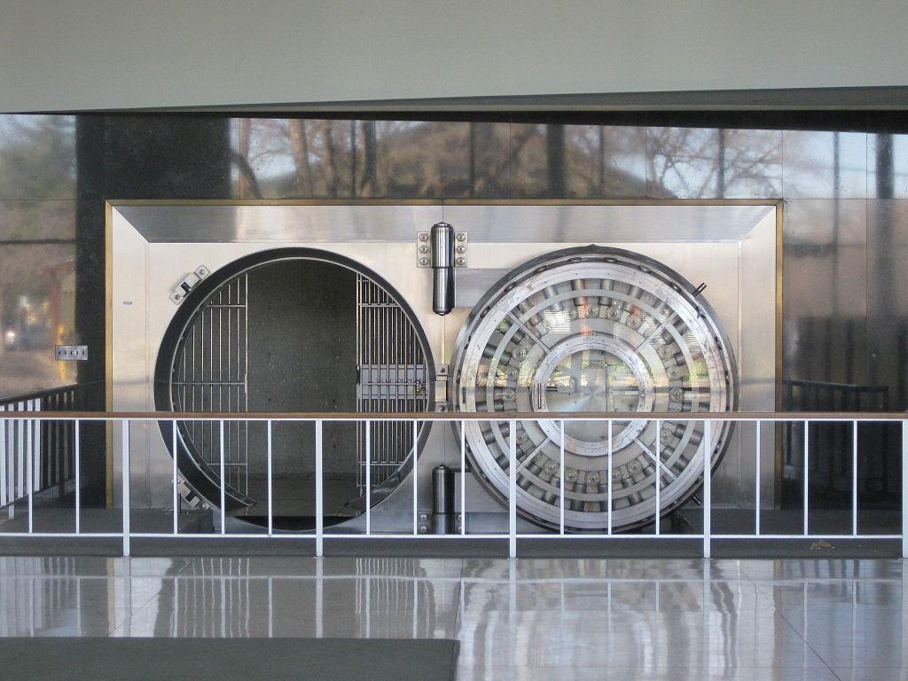 post-AEOI empty bank vault