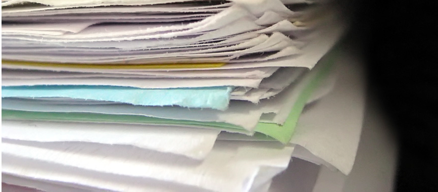 stack of Asset Management papers